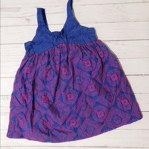Cat & Jack Girls 3T Purple & Pink Dress